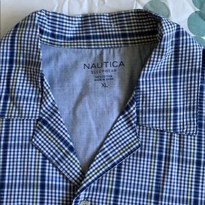 Brand new Nautica short sleeve button up